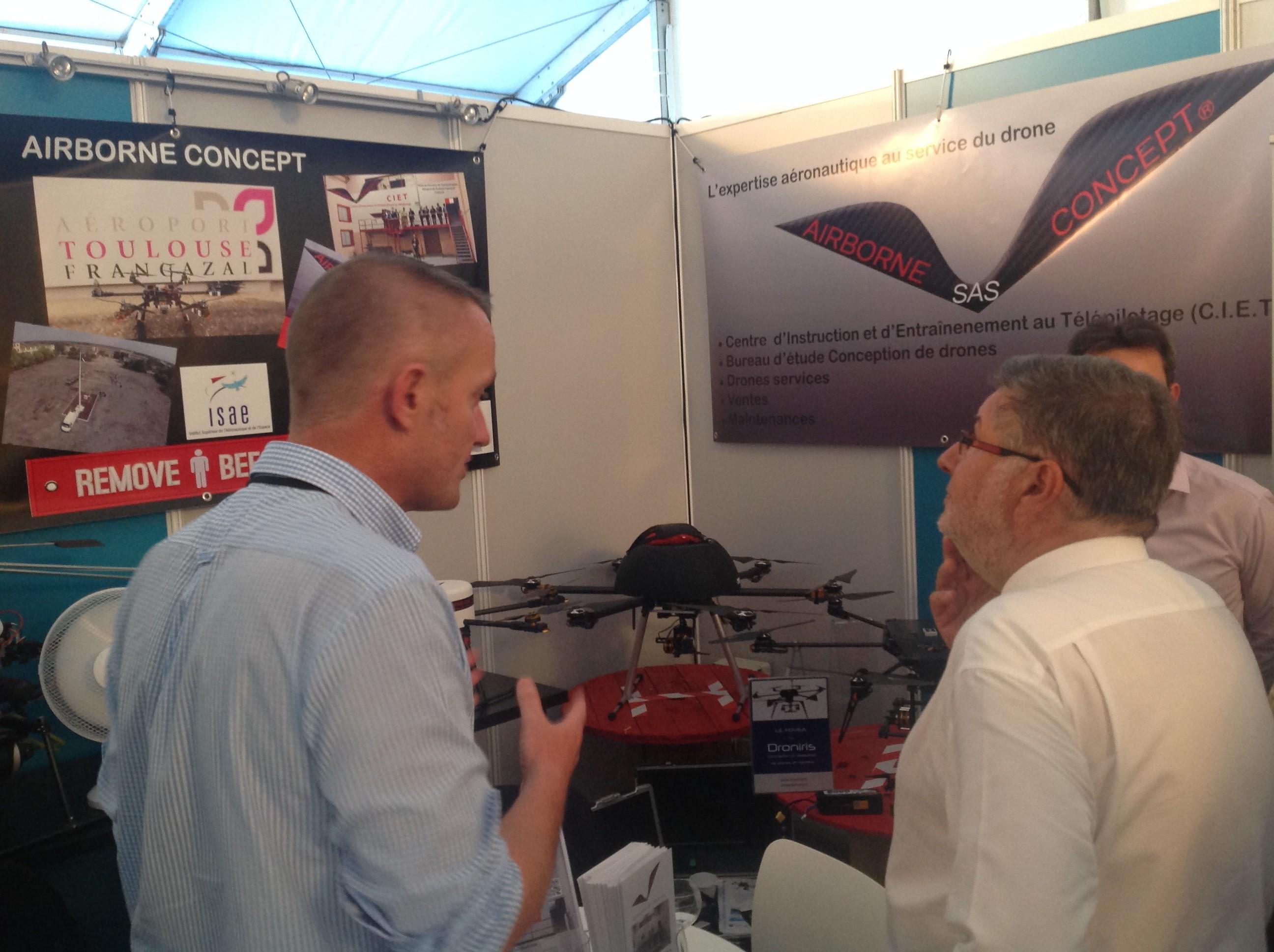 UAV-Show Bordeaux